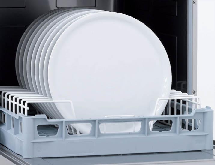 Lavastoviglie professionale piatti risparmiare con il sistema Super Risparmio Solido