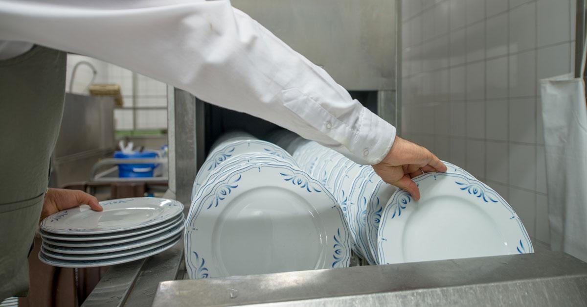Acqua e calcare in lavastoviglie